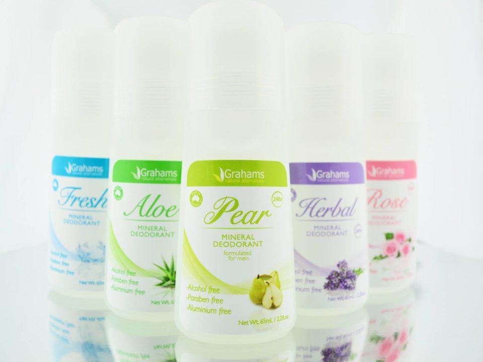 Grahams Natural Mineral Deodorant