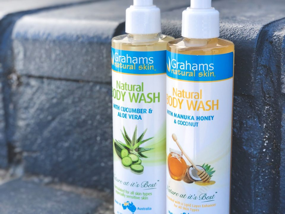 Grahams Natural Body Wash
