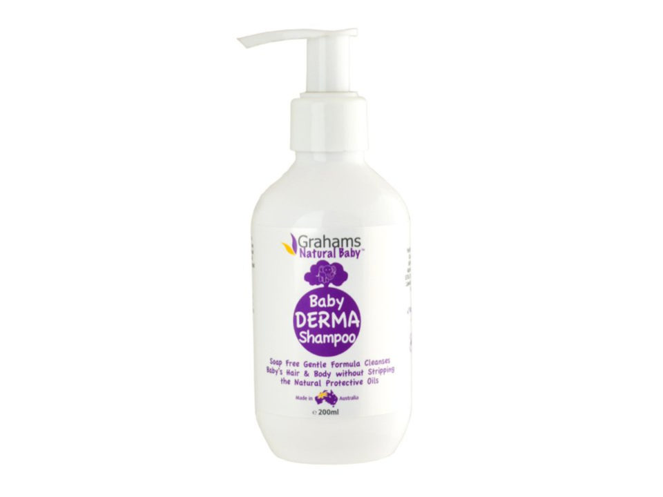 Grahams Natural Baby Derma Shampoo